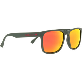 Red Bull SPECT Leap Gafas de Sol, olive green/brown-red